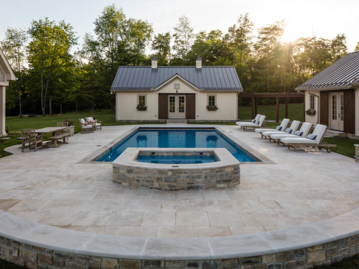 Travertine Patio Cincinnati, OH