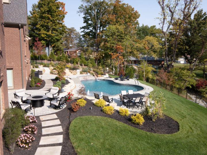 Gunite Swimming Pool Bridgetown, OH